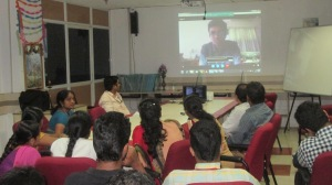Speaking at Univeristy Computer Science department