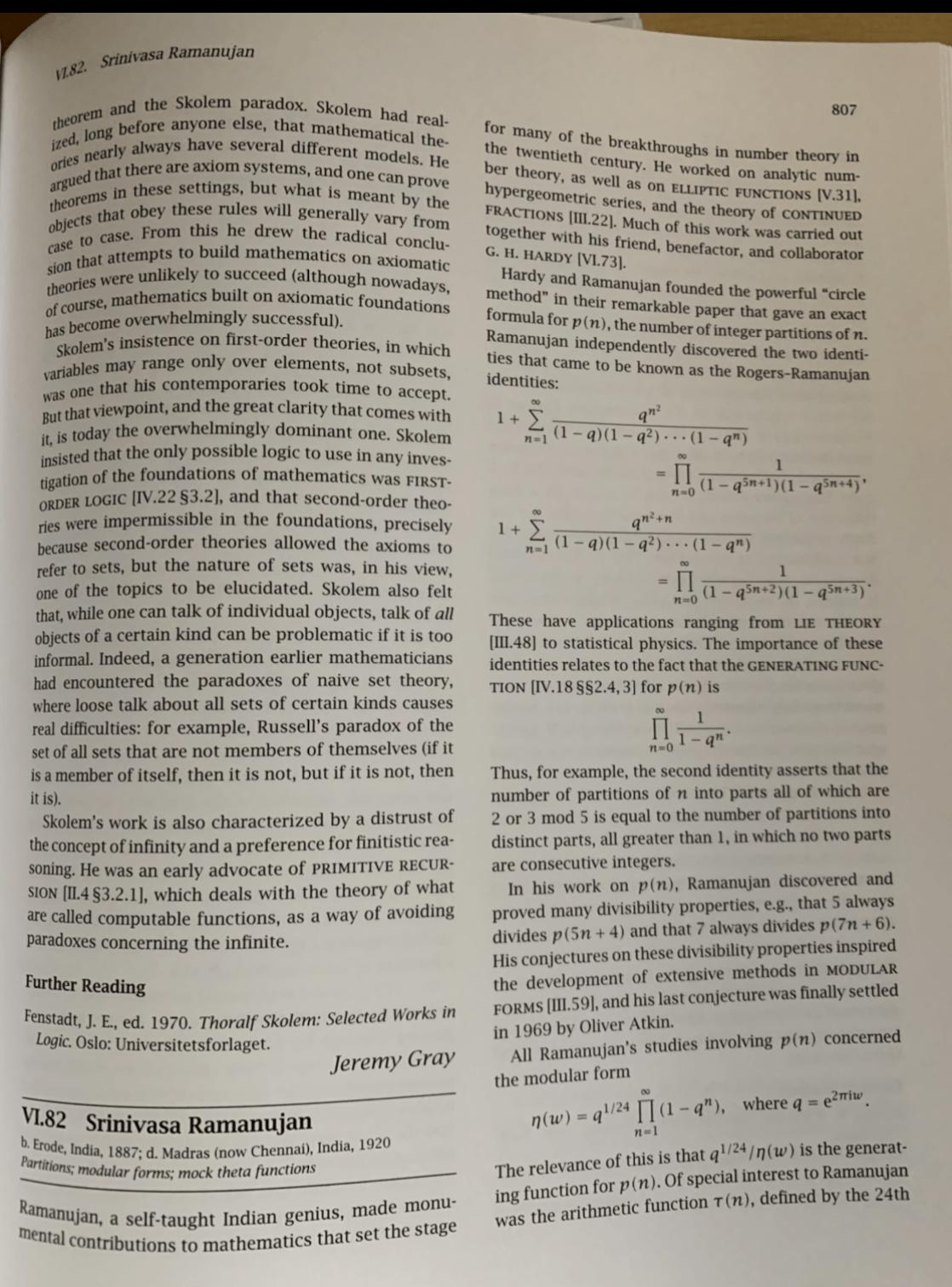 Ramanujan - biography - 1
